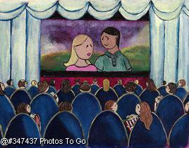 Illustration: At the movies
